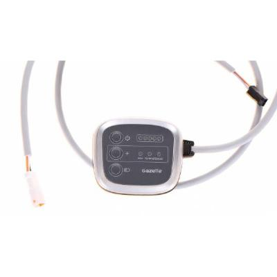 Display Gazelle Pure V2 met lange kabel