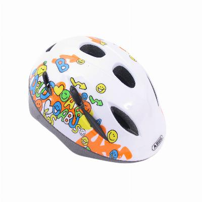 Fietshelm Abus Smooty Zoom Smiley White Medium (50-55cm)