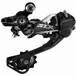 Achterderailleur Shimano SLX M7000 10V SGS Top-Normal Shadow - zwart