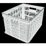 Fietskrat Edge Urban Crate - Medium - 26Liter - Wit