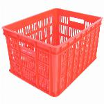 Fietskrat Edge Urban Crate - Medium - 26Liter - Rood