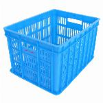 Fietskrat Edge Urban Crate - Medium - 26Liter - Blauw