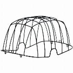 Buddy Space Frame Basil - black